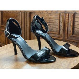 Dressy Black Patent Heels- 6.5